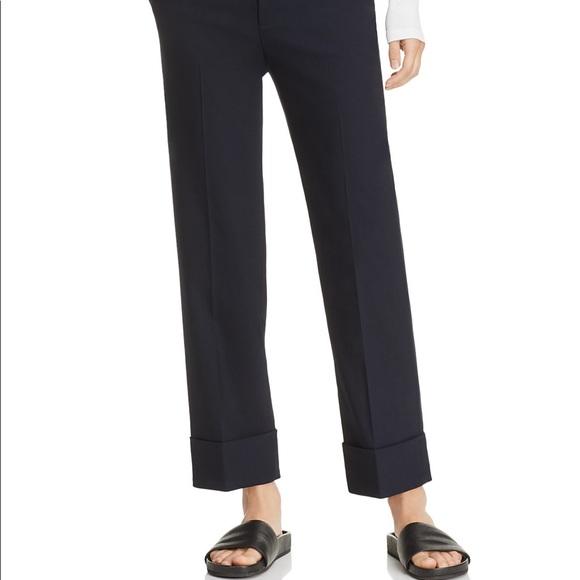 fe42eb431 Vince Pants | Nwt Black Cuffed Coin Pocket Trousers | Poshmark